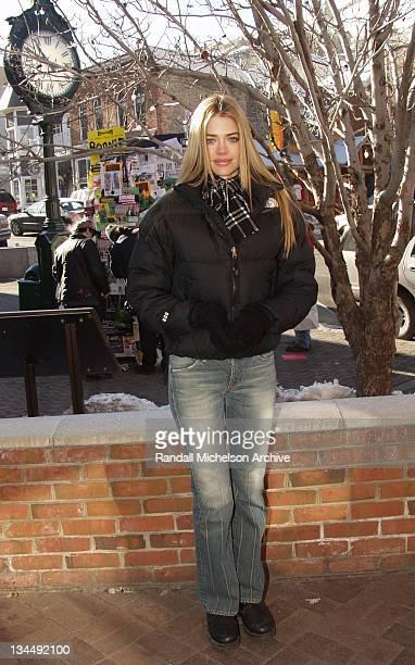 Denise Richards at 2002 Sundance Film Festival in Park City Utah