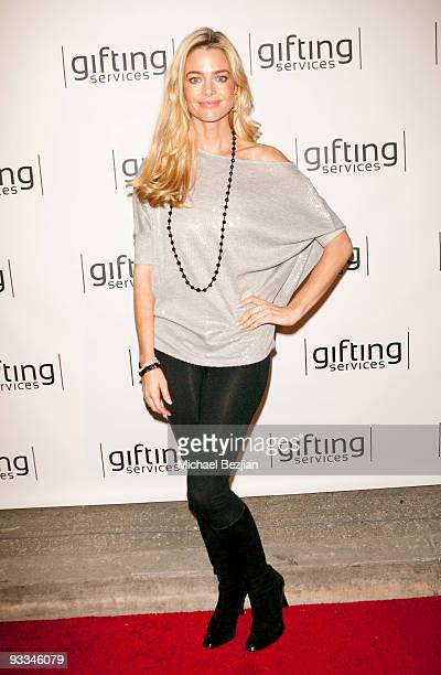 Denise Richards attends the Dancing With The Stars Season 9 Finale Honored By Gifting Services Day 1 on November 23 2009 in Los Angeles California