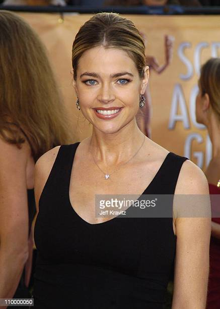 Denise Richards during 2005 Screen Actors Guild Awards Arrivals at The Shrine in Los Angeles California United States