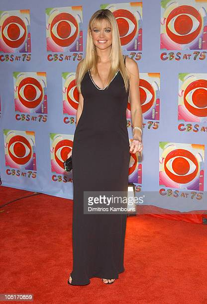 Denise Richards during CBS at 75 at Hammerstein Ballroom in New York City New York United States