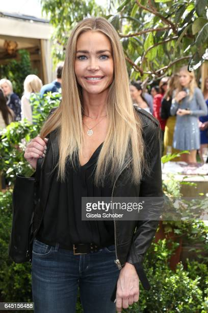 Denise Richards during the NetAPorter lunch at hotel Chateau Marmont on February 24 2017 in Los Angeles California