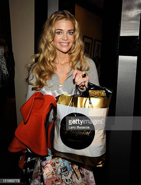 Denise Richards visits the Hollywood Life House Suite on January 18 2009 in Park City Utah