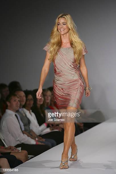 Denise Richards walks the catwalk at Smashbox West Hollywood on September 24 2009 in West Hollywood California