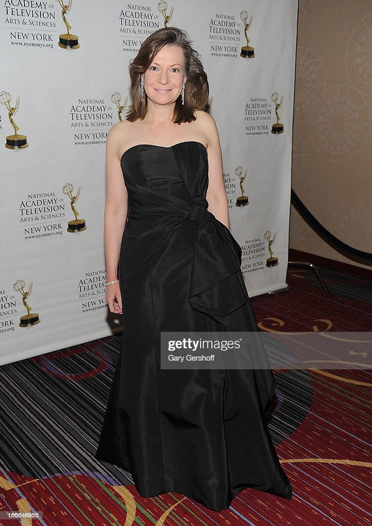 Denise Rover attends the 56th Annual New York Emmy Awards at Marriott Marquis Times Square on April 14, 2013 in New York City.