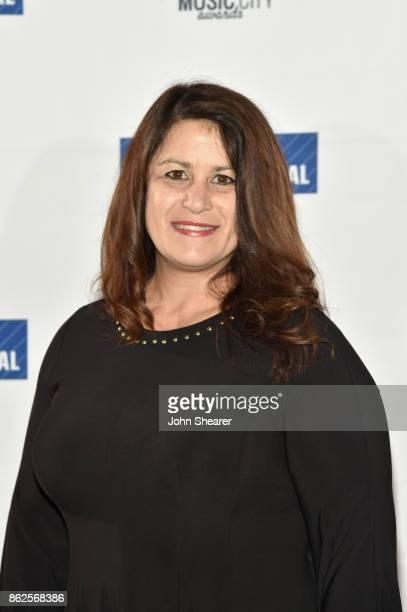 Denise Stevens of Loeb Loeb LLP arrives at the 2017 Nashville Business Journal Women In Music City on October 17 2017 in Nashville Tennessee
