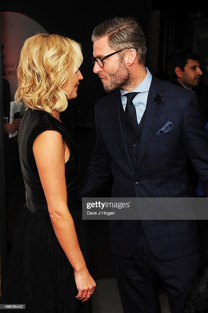 Denise Van Outen and Eddie Boxshall attend the British Academy Children's Awards at The Roundhouse on November 22 2015 in London England
