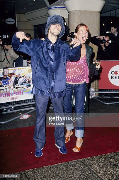 Denise Van Outen and Jay Kay during 'Kevin and Perry Go Large' London Premiere Arrivals at Leicester Square in London Great Britain