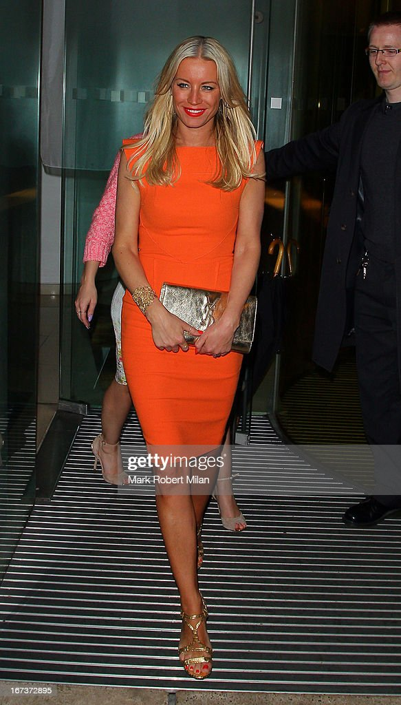 Denise van Outen at the St Martins Lane hotel on April 24, 2013 in London, England.