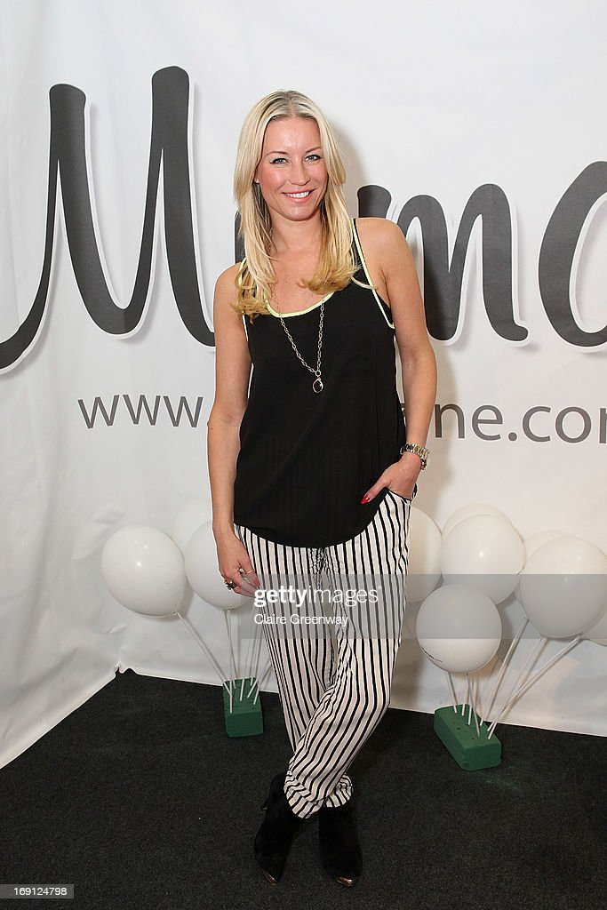 Denise van Outen attends a photocall as she joins 'Mumazine' as a celebrity contributor at Alexandra Palace on May 18, 2013 in London, England. Mumazine is an online magazine with features by and about celebrity mums and offers parenting, fashion and nutrition advice.