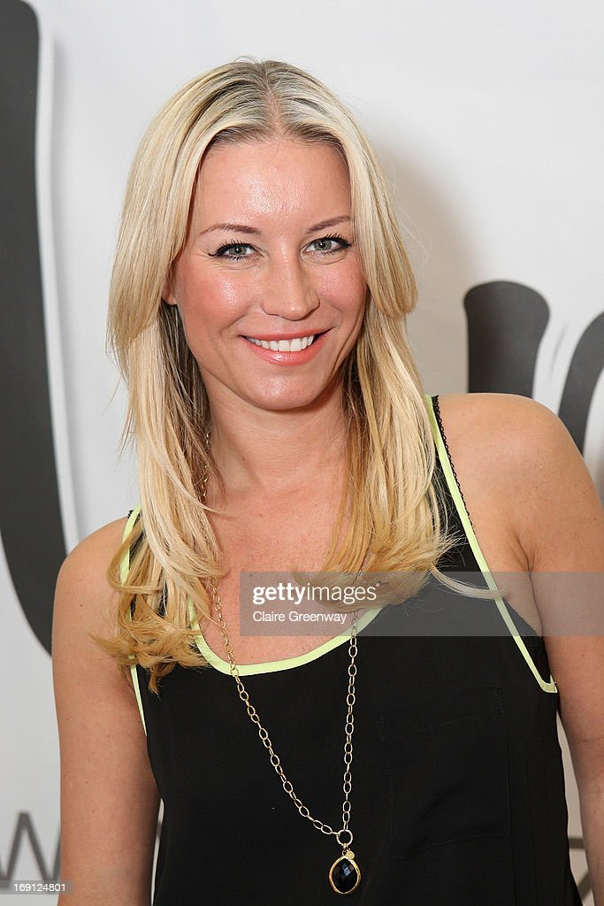 Denise van Outen attends a photocall as she joins Mumazine online magazine as a celebrity contributor at Alexandra Palace on May 18, 2013 in London, England. Mumazine is an online magazine with features by and about celebrity mums and offers parenting, fashion and nutrition advice.