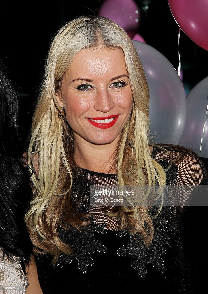 Denise van Outen attends an after party celebrating the press night performance of 'Burn The Floor' at the Trafalgar Hotel on March 11, 2013 in London, England.