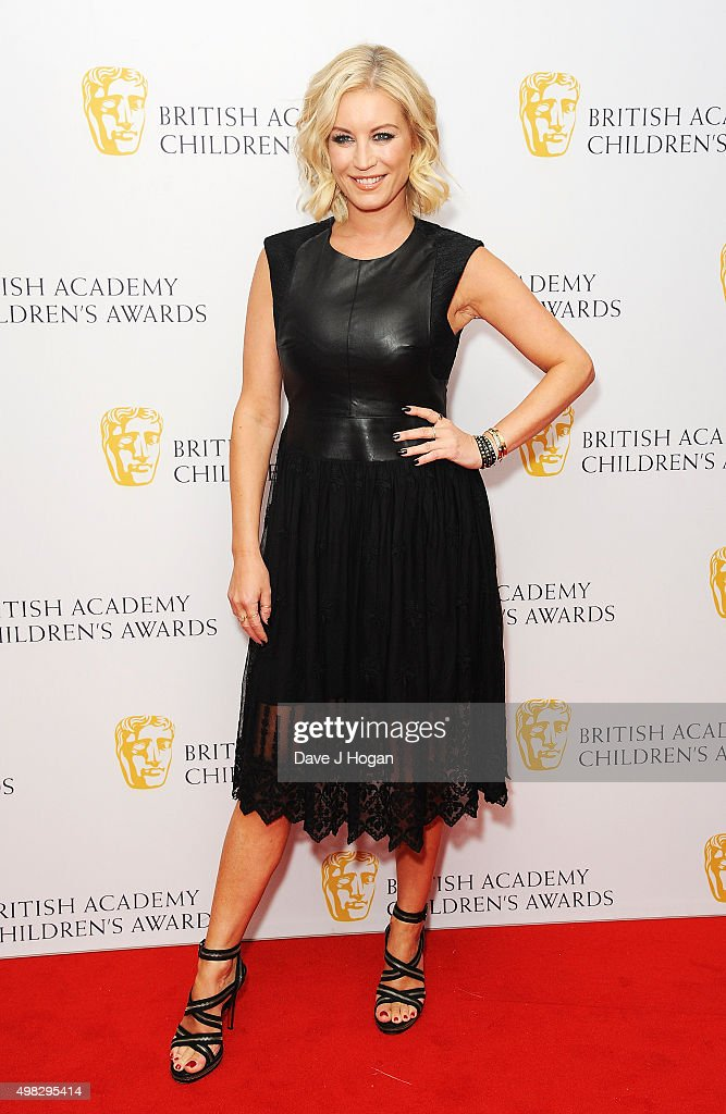 Denise Van Outen attends the British Academy Children's Awards at The Roundhouse on November 22 2015 in London England