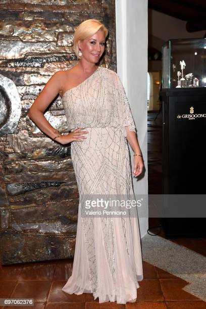 Denise Van Outen attends The Costa Smeralda Invitational Gala Dinner at Cala di Volpe Hotel Costa Smeralda on June 17 2017 in Olbia Italy