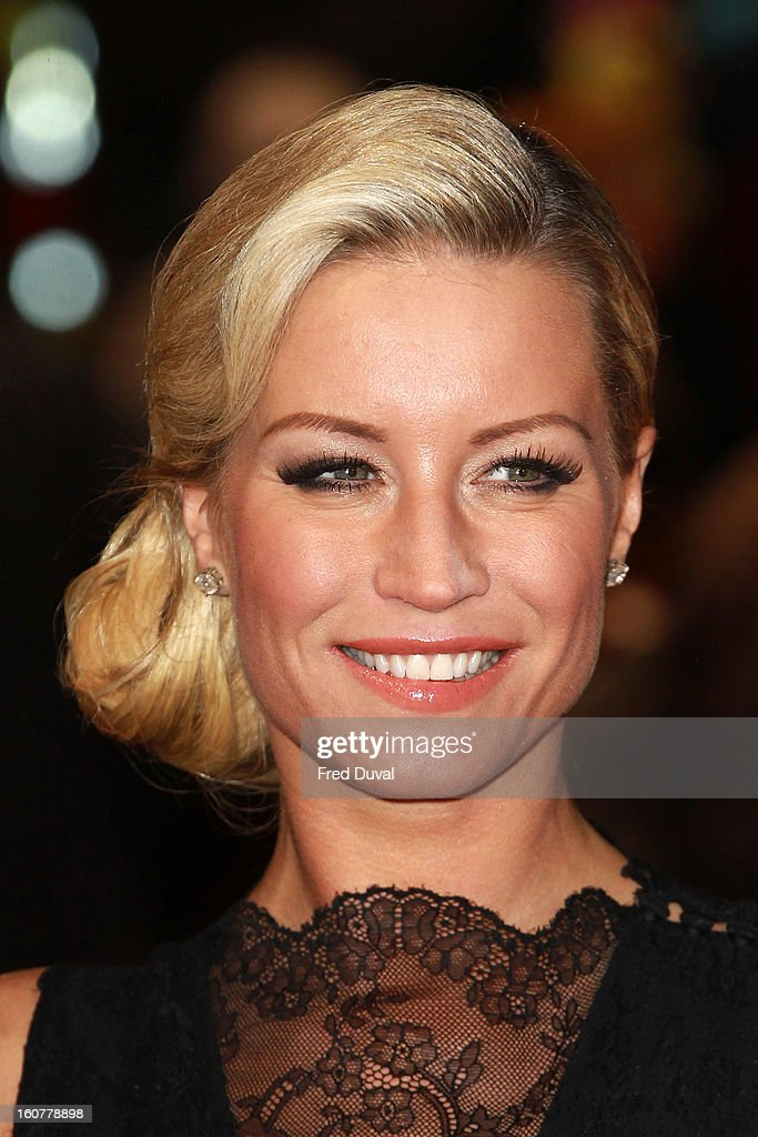 Denise van Outen attends the premiere of 'Run For Your Wife' at Odeon Leicester Square on February 5, 2013 in London, England.