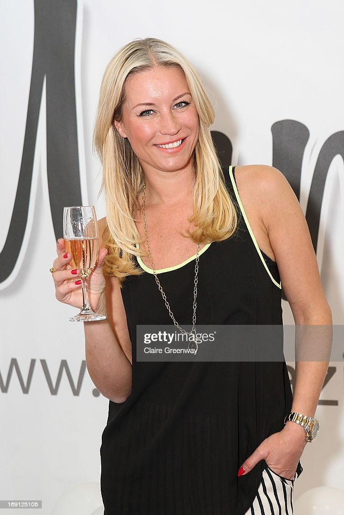 Denise van Outen celebrates joining 'Mumazine' as a celebrity contributor at Alexandra Palace on May 18, 2013 in London, England. Mumazine is an online magazine with features by and about celebrity mums and offering parenting, fashion and nutrition advice.