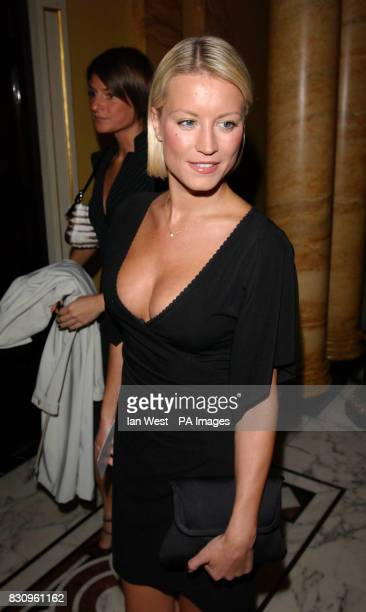 Denise van Outen during a reception prior to the Variety Club's Tribute Dinner for lyricist Don Black at The Dorchester in London Don Black is an...