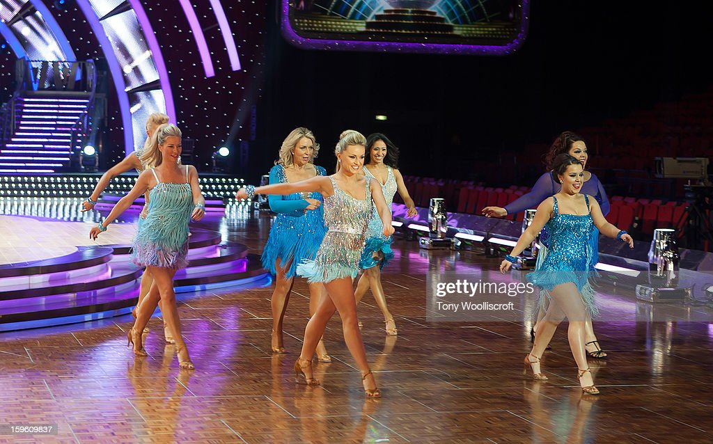 <a gi-track='captionPersonalityLinkClicked' href=/galleries/search?phrase=Denise+Van+Outen&family=editorial&specificpeople=202834 ng-click='$event.stopPropagation()'>Denise Van Outen</a>, Natalie Lowe, <a gi-track='captionPersonalityLinkClicked' href=/galleries/search?phrase=Ola+Jordan&family=editorial&specificpeople=4958189 ng-click='$event.stopPropagation()'>Ola Jordan</a>, <a gi-track='captionPersonalityLinkClicked' href=/galleries/search?phrase=Fern+Britton&family=editorial&specificpeople=645518 ng-click='$event.stopPropagation()'>Fern Britton</a>, Karen Hauer and Dani Harmer and Lisa Rilley attends a photocall ahead of the Strictly Come Dancing Live Tour at NIA Arena on January 17, 2013 in Birmingham, England.