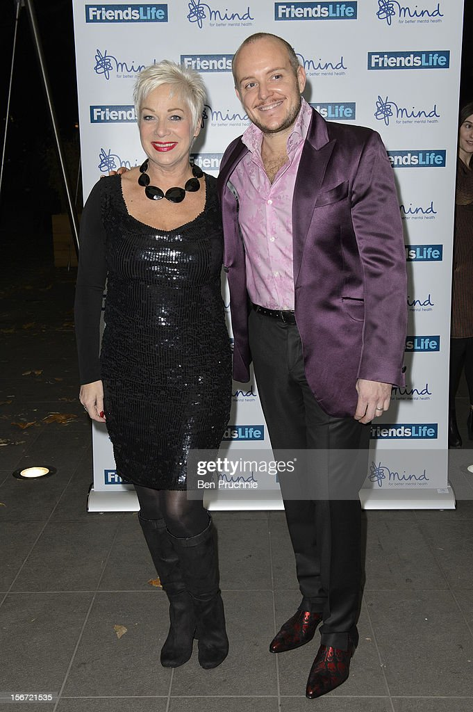 Denise Welch and Lincoln Townley attend the Mind Mental Health Media Awards at BFI Southbank on November 19, 2012 in London, England.
