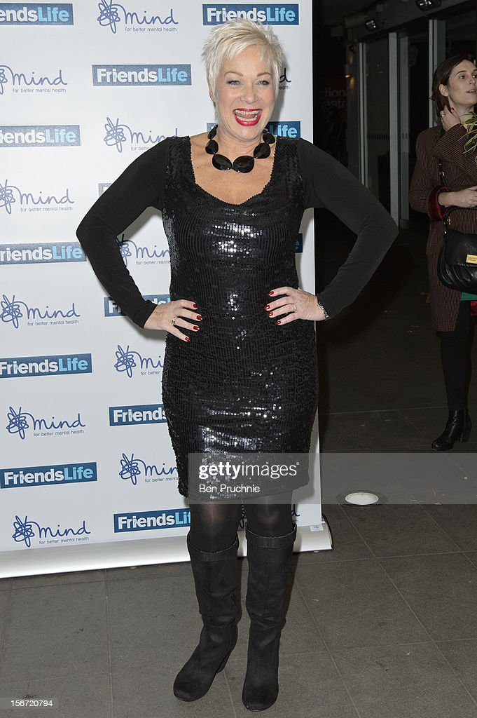 Denise Welch attends the Mind Mental Health Media Awards at BFI Southbank on November 19, 2012 in London, England.