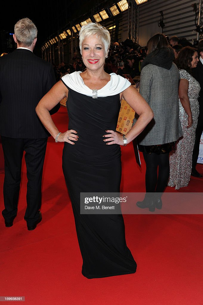 Denise Welch attends the the National Television Awards at 02 Arena on January 23, 2013 in London, England.