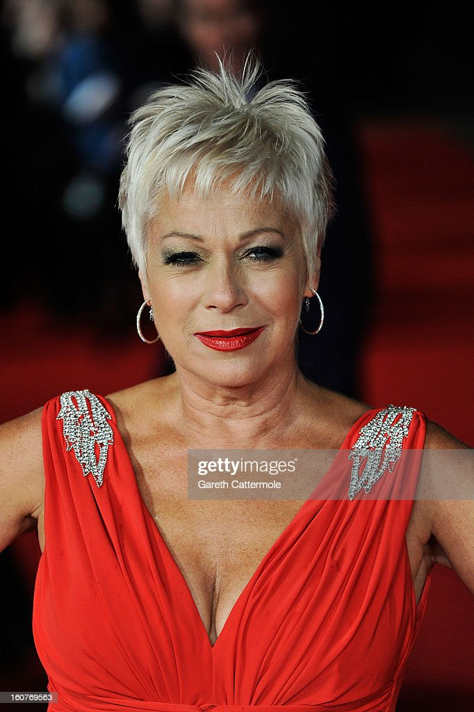 Denise Welch attends the UK Premiere of 'Run For Your Wife' at Odeon Leicester Square on February 5, 2013 in London, England.