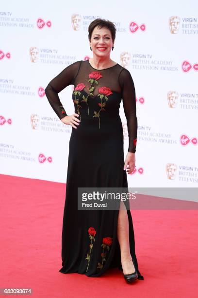 Denise Welch attends the Virgin TV BAFTA Television Awards at The Royal Festival Hall on May 14 2017 in London England