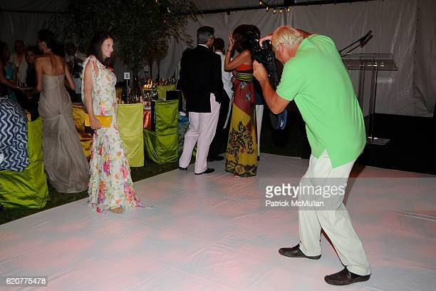 Denise Wohl and Steve Eichner attend The Board of Trustees of The PARRISH ART MUSEUM Host The Midsummer Party Honoring ALVIN CHERESKIN at The Parrish...