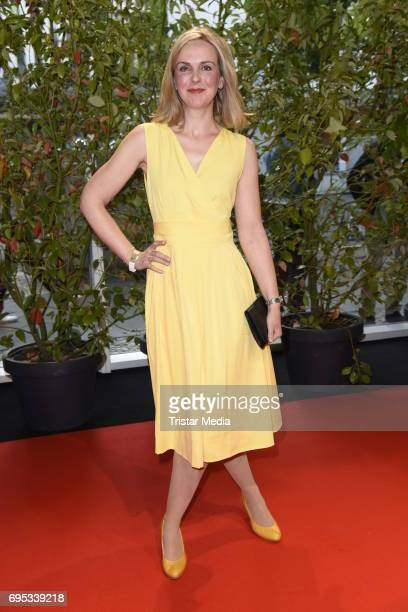 Denise Zich attends the Cocktail prolonge to the SemiFinal Round Of Judging Of The International Emmy Awards 2017 on June 12 2017 in Berlin Germany