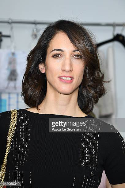 Deniz Erguven attends the Chanel Haute Couture Fall/Winter 20162017 show as part of Paris Fashion Week on July 5 2016 in Paris France