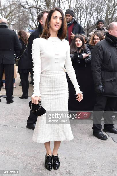 Deniz Gamze Ergueven is seen arriving at Chanel fashion show during the Paris Fashion Week Womenswear Fall/Winter 2017/2018 on March 7 2017 in Paris...