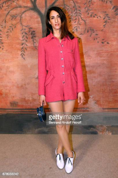 Deniz Gamze Erguven attends the Chanel Cruise 2017/2018 Collection Show at Grand Palais on May 3 2017 in Paris France