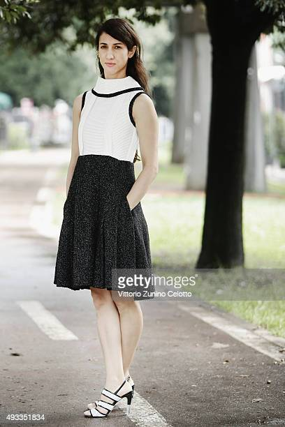 Deniz Gamze Erguven poses on October 19 2015 in Rome Italy