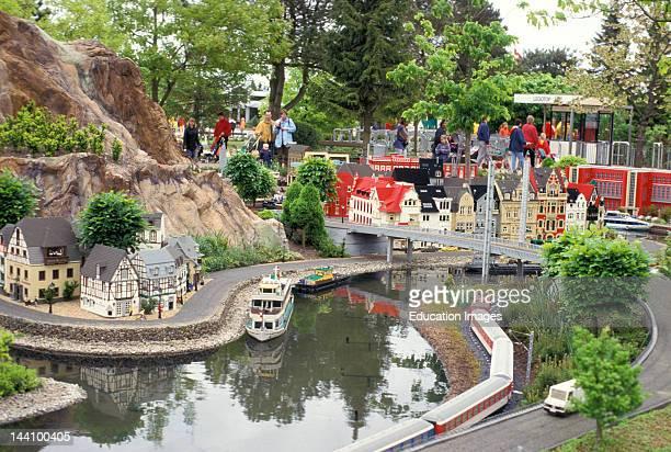 Denmark Billund Legoland Miniature Village Made Out Of Legos