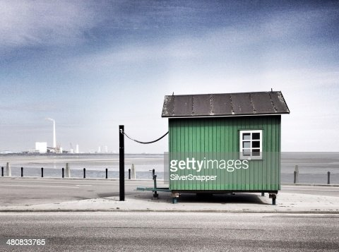 デンマーク、Fanoe 、小さなグリーンハット