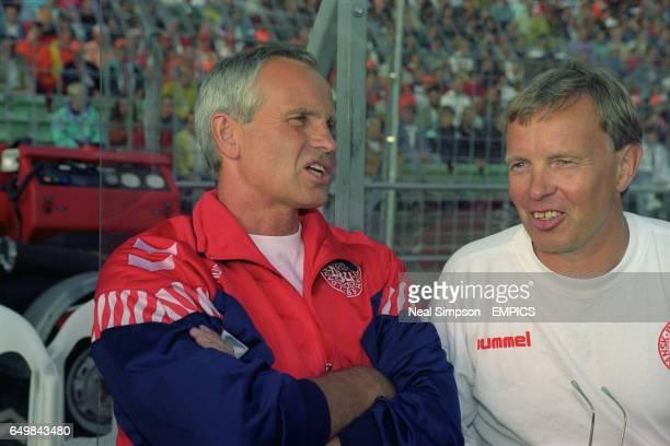 Denmark manager Richard Moller Nielsen