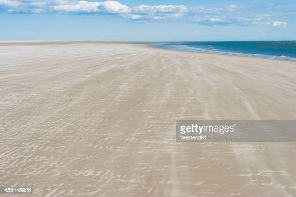 Denmark, Romo, Sand dunes at North Sea