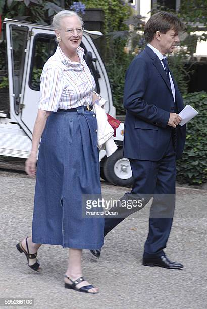 Mthe Queen Margrethe II of Denmark Costume designer and Secnigraph Hans Christian Anders fairy7 tale play 'Svinedregen' Pigboy or Swine boy Koregraph...