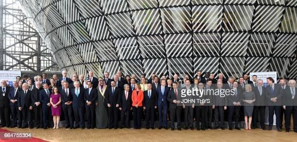 Denmark's Foreign Minister Anders Samuelsen Canadian Foreign Minister Chrystia Freeland British Foreign Secretary Boris Johnson Qatar's Foreign...
