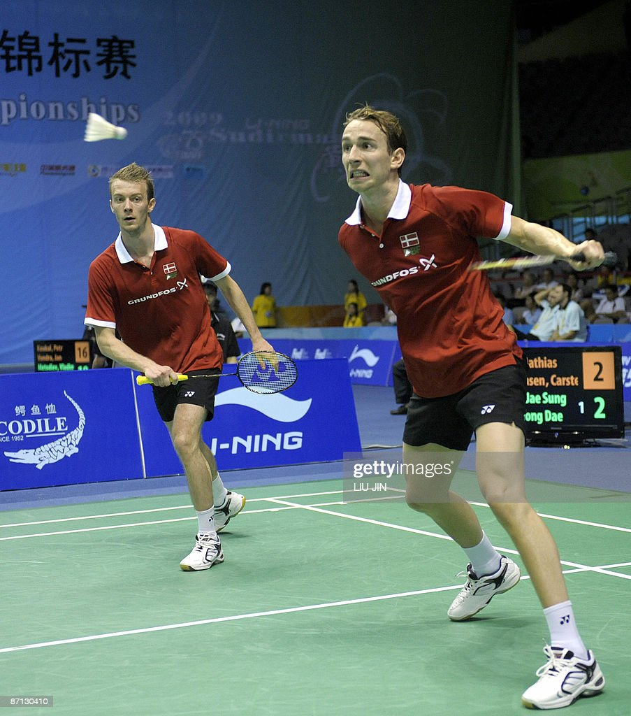 Denmark s Mathias Boe R and Carsten Mo