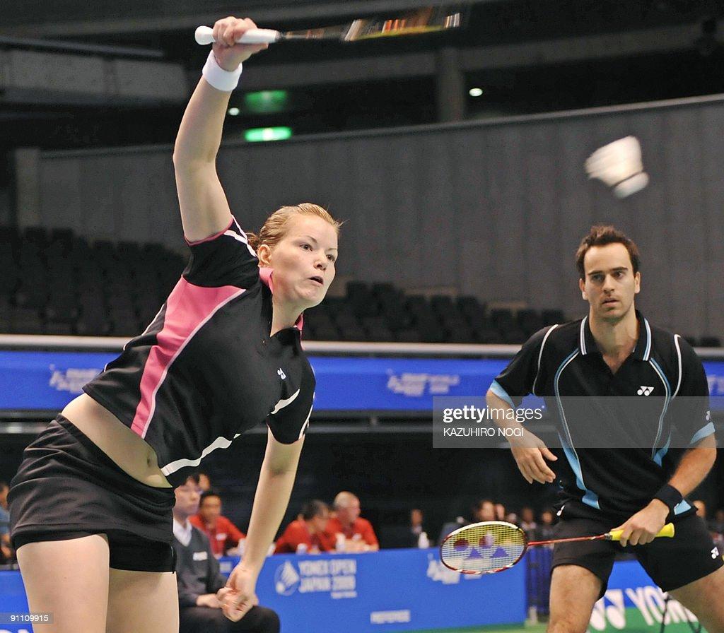 Denmark s mixed doubles pair Joachim Fi