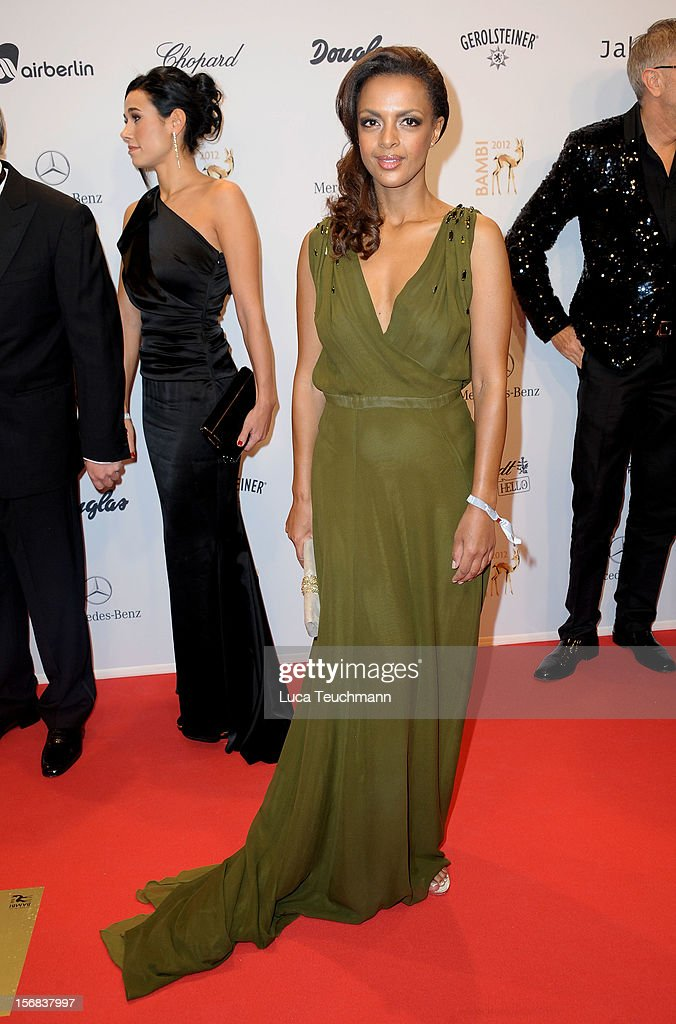 Dennenesch Zoudé attends 'BAMBI Awards 2012' at the Stadthalle Duesseldorf on November 22, 2012 in Duesseldorf, Germany.