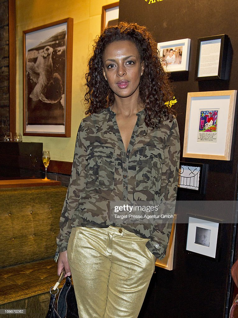 Dennenesch Zoud attends the Grazia Pop Up Casino during the Mercedes Benz Fashion Week Autumn/Winter 2013/14 at the Restaurant Uma on January 16, 2013 in Berlin, Germany.
