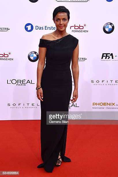 Dennenesch Zoudé attends the Lola German Film Award on May 27 2016 in Berlin Germany