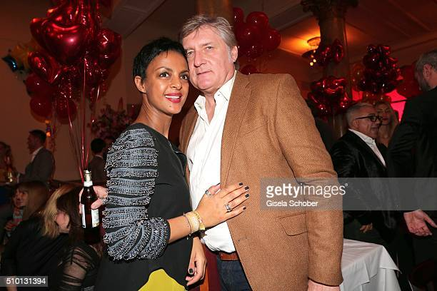 Dennenesch Zoude and her husband Carlo Rola during the Bild 'Place to B' Party at Borchardt during the 66th Berlinale International Film Festival...