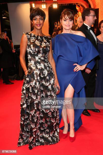 Dennenesch Zoude and Ina Paule Klink during the Bambi Awards 2017 at Stage Theater on November 16 2017 in Berlin Germany