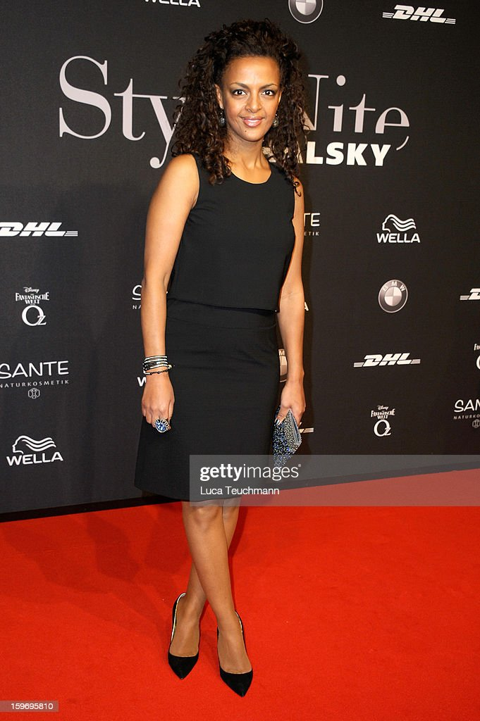 Dennenesch Zoude attends Michalsky Style Nite Arrivals - Mercedes-Benz Fashion Week Autumn/Winter 2013/14 at Tempodrom on January 18, 2013 in Berlin, Germany.