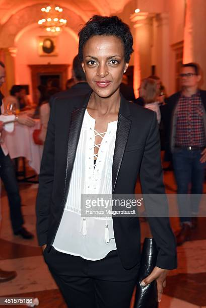 Dennenesch Zoude attends the Bavaria Reception at the Kuenstlerhaus as part of the Munich Film Festival 2014 on July 1 2014 in Munich Germany