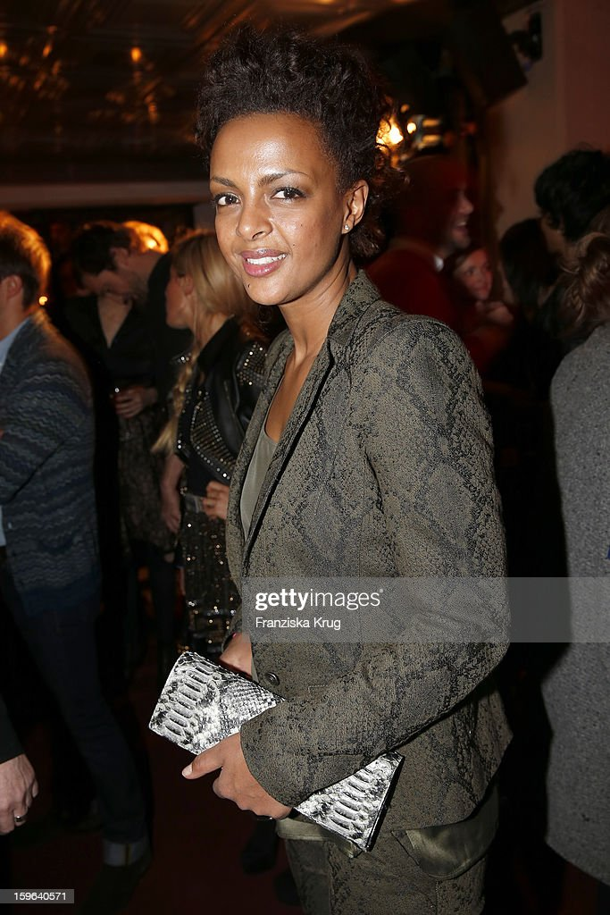 Dennenesch Zoude attends the 'Laurel After Show Party - Mercedes-Benz Fashion Week Autumn/Winter 2013/14' at Soho House on January 17, 2013 in Berlin, Germany.