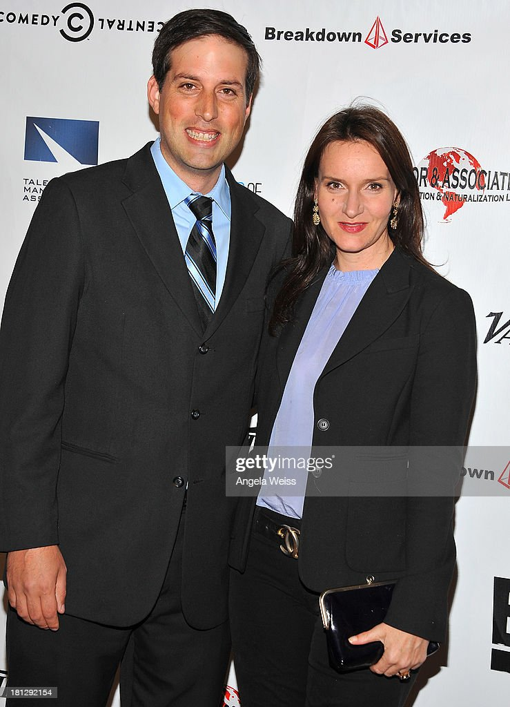 Dennis Baker and Rochelle Rose of SAG attend the 12th Annual Heller Awards at The Beverly Hilton Hotel on September 19, 2013 in Beverly Hills, California.
