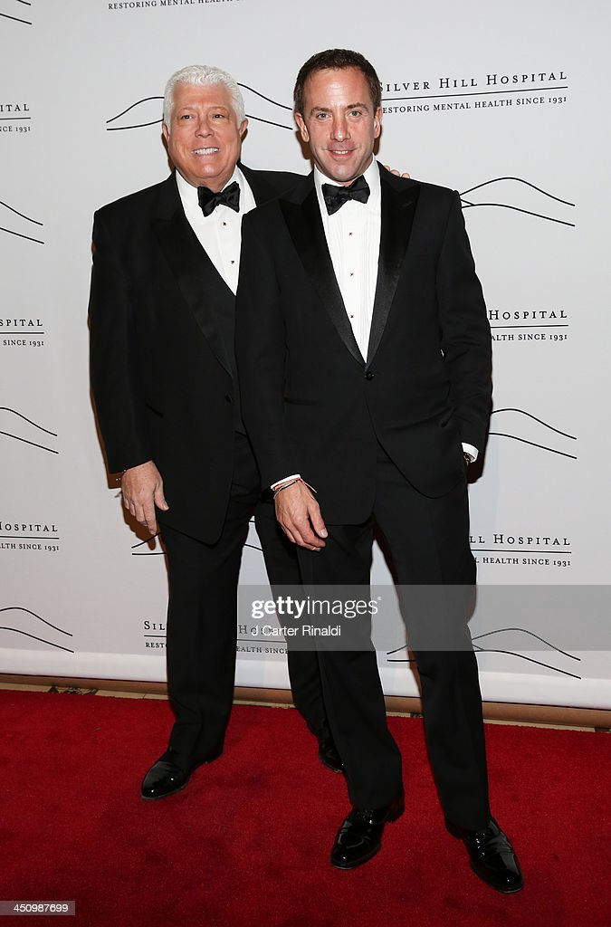 Dennis Basso and Michael Cominotto attends the 2013 Silver Hospital gala at Cipriani 42nd Street on November 20, 2013 in New York City.